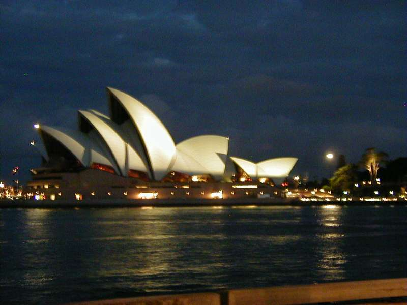 Sydney Opera House at Night, 2002