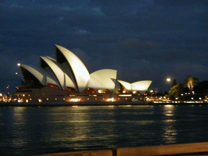 Sydney Opera House at Night, 2002