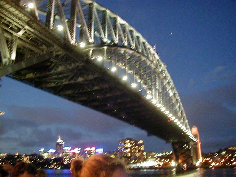 Sydney Harbour Bridge at Night, 2002